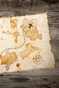 Skattjakt med karta