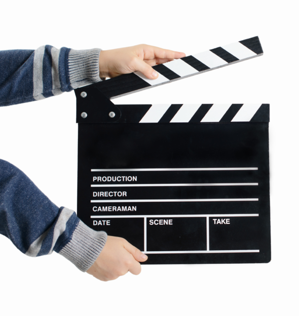 Spela in en film